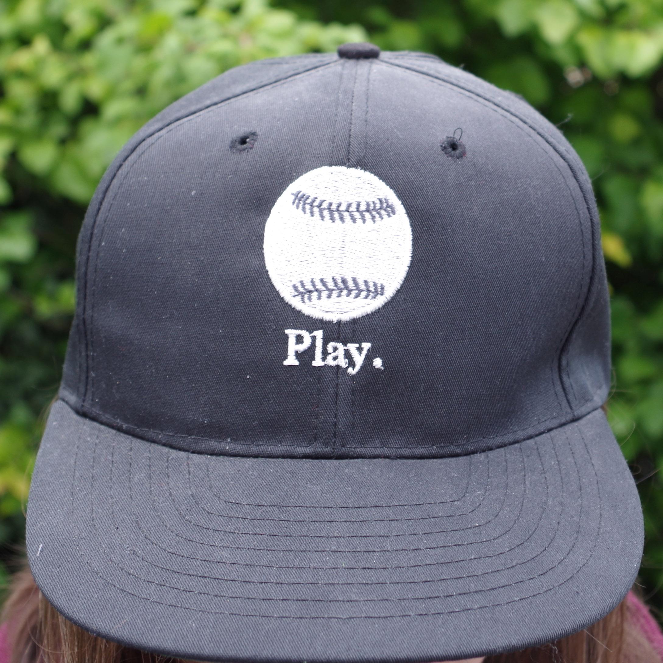 casquette brodée baseball